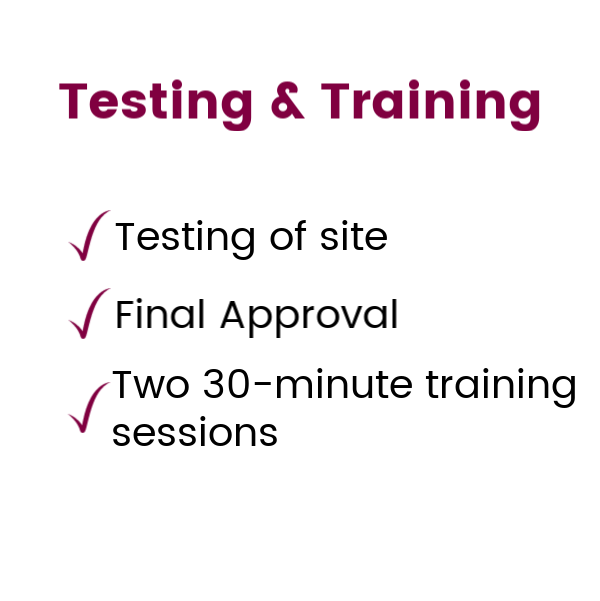 5Training and launch