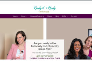 website design budget and body by nicole